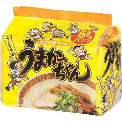九州ではおなじみの袋ラーメンうまかっちゃん